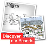 Discover Valfréjus - click here to view town map